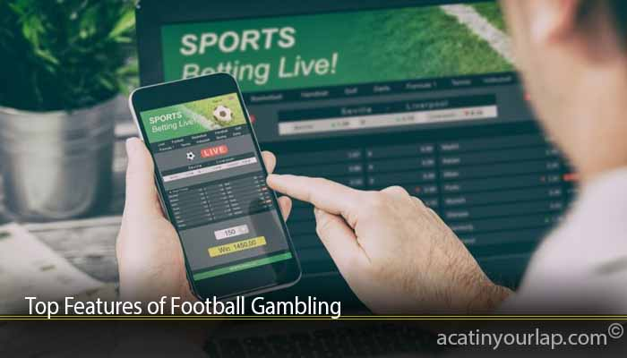 Top Features of Football Gambling